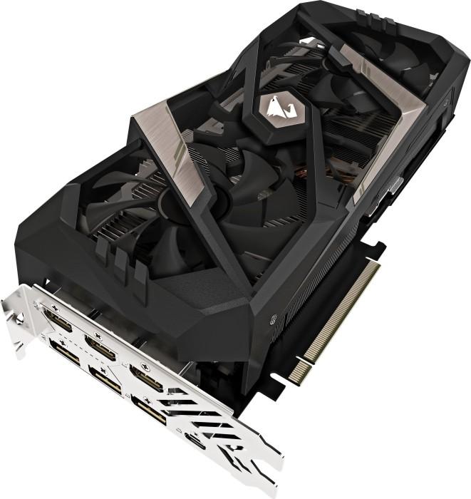 Gigabyte Aorus GeForce RTX 2070 8G, 8GB GDDR6, 3x HDMI, 3x DP, USB-C (GV-N2070AORUS-8GC)