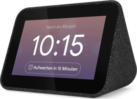 Lenovo Smart Clock schwarz (ZA4R0032SE)