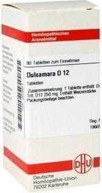 DHU Dulcamara D12 Tabletten, 80 Stück