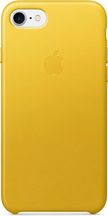 apple leder case f r iphone 7 sonnenblumengelb mq5g2zm a. Black Bedroom Furniture Sets. Home Design Ideas