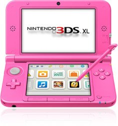 Nintendo 3DS XL pink (verschiedene Bundles)