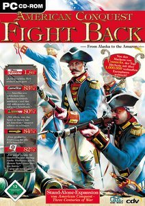 American Conquest - Fight Back (Add-on) (German) (PC)