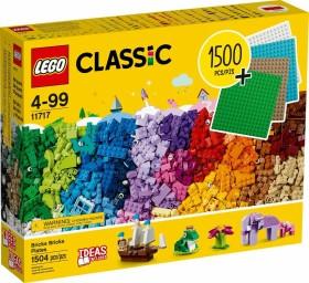 LEGO Classic - Extragroße Steinebox mit Bauplatten (11717)