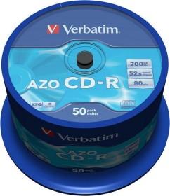 Verbatim Azo Crystal CD-R 80min/700MB 52x, 50-pack Spindle (43343)