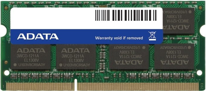 ADATA Premier SO-DIMM  8GB PC3-10667S CL9-9-9-24 (DDR3-1333) (AD3S1333W8G9)