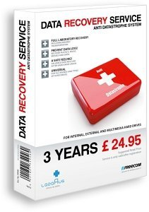 Freecom Data Recovery Service, 3 years, UK (34946)