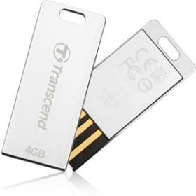 Transcend JetFlash T3 silber 4GB, USB-A 2.0 (TS4GJFT3S)