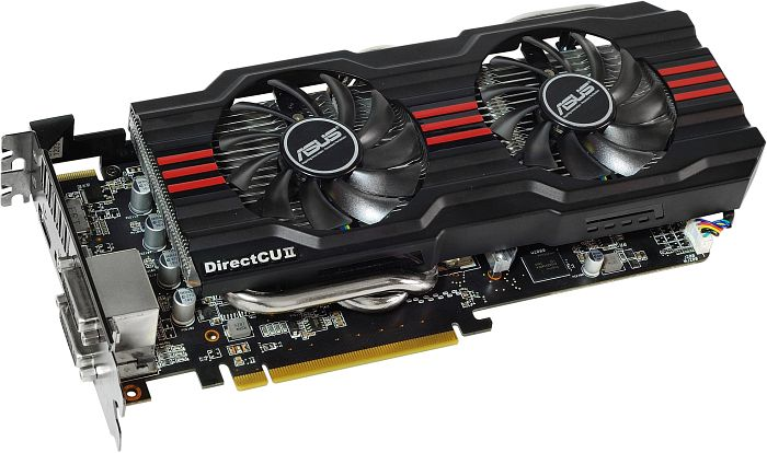 ASUS HD7870-DC2TG-2GD5-V2 DirectCU II TOP, Radeon HD 7870 GHz Edition, 2GB GDDR5, 2x DVI, HDMI, DisplayPort (90-C1CS52-S0UAY0BZ)