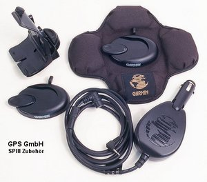 Garmin Streetpilot-III car adapter with loudspeaker