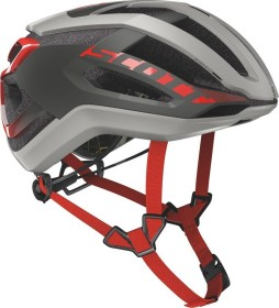 Scott Centric Plus Helmet stellar grey/red (250023-6147)