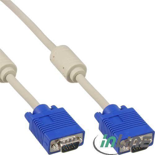 InLine VGA-Kabel Stecker/Stecker 20m (17720)