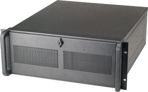 Chieftec UNC-410S black, 4U, 360W ATX