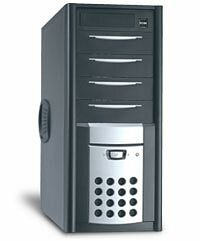 Casetek CK-1016 Midi-Tower (various colours, various Power Supplies)