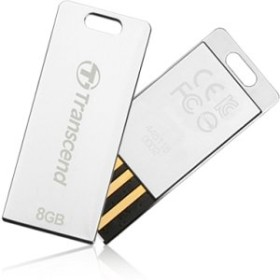 Transcend JetFlash T3 silber 8GB, USB-A 2.0 (TS8GJFT3S)