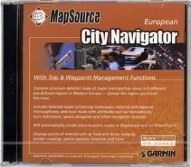 Garmin CityNavigator Europa