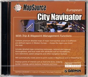 Garmin CityNavigator Europe