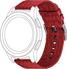 Topp nylon-Wristlet for Samsung Galaxy Watch 46mm red (40-37-1912)
