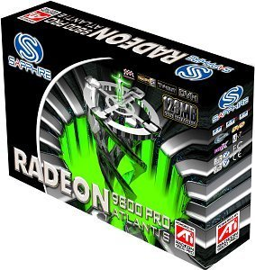 Sapphire Atlantis Radeon 9800 Pro, 128MB DDR, DVI, TV-out, AGP, bulk/lite retail (21016-00-10/20)
