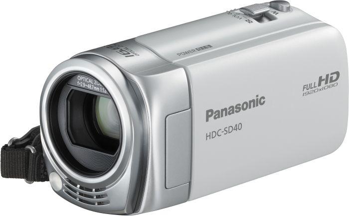 Panasonic HDC-SD40 white