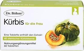 Dr. Böhm Kürbis Tabletten für die Frau, 60 Stück
