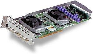3Dlabs Wildcat4 7110, 2x P10, 256MB DDR, 2x DVI, AGP Pro
