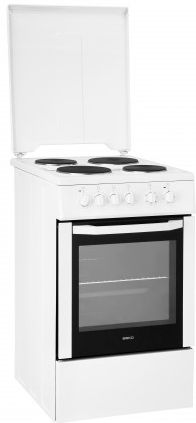 Beko CSE56000GW electric cooker