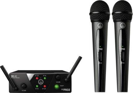 AKG WMS40 Mini Dual Vocal Set (verschiedene Frequenzen)