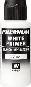 Vallejo Premium Airbrush Color white primer 60ml (62.061)