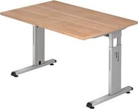 Hammerbacher Ergonomic O-Serie OS12/N, Nussbaum, Schreibtisch