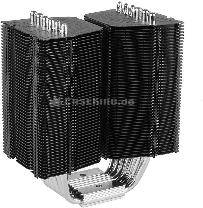 Prolimatech Black Megahalems Cooling Blocks -- © caseking.de