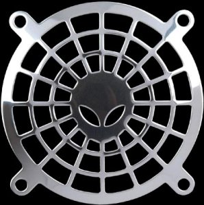 Lüftergitter/Fan Guard Alien 80x80mm