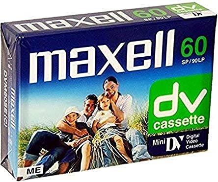 Maxell DVM-60SE MiniDV-Kassette -- via Amazon Partnerprogramm