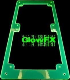 A.C.Ryan RadGrillz GlowFX 2x120mm Acryl UVGreen (ACR-RG12353)