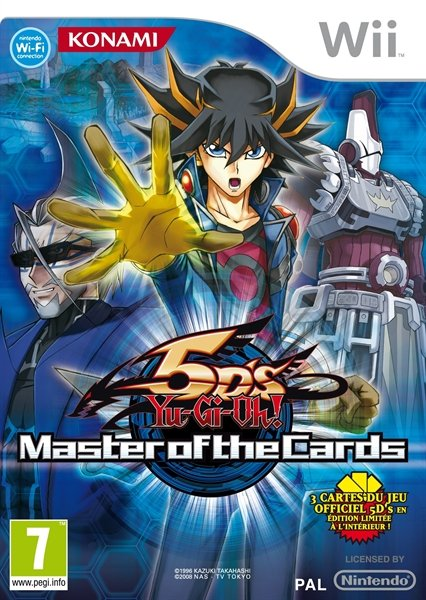 Yu-Gi-Oh! Master of the Cards (English) (Wii)