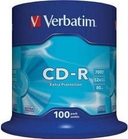 Verbatim Extra Protection CD-R 80min/700MB 52x, 100er-Spindel (43411)