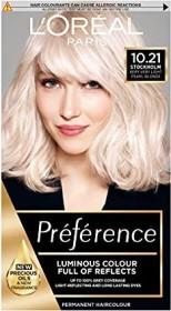 L'Oréal Récital Préférence hair colour 10.21 Platinperlmuttblond