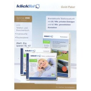 Buhl Data: KlickTel Gold-package summer 2010 (German) (PC)