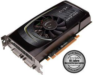 EVGA GeForce GTX 460 Superclocked, 768MB GDDR5, 2x DVI, mini HDMI (768-P3-1362)