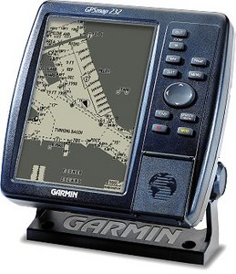 Garmin GPSMap-232 with external antenna
