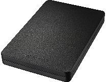 Toshiba Stor.E Canvio Alu schwarz 500GB, USB 3.0 Micro-B (HDTH305EK3AA)