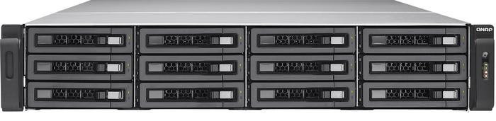 QNAP TVS-EC1280U-SAS-RP-8GE-R2 120TB, 2x 10GBase, 4x Gb LAN, 2HE
