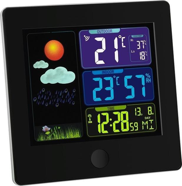 TFA Dostmann Sun wireless weather station digital black (35.1133.01)