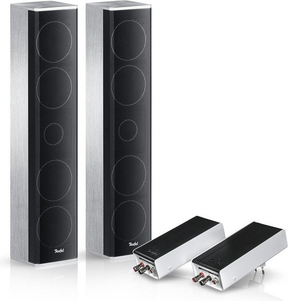 "Teufel Cinebar Trios ""3.1>5.1 expansion set satellite"""