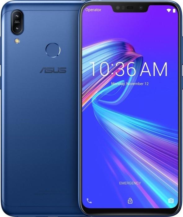 ASUS ZenFone Max (M2) ZB633KL 64GB blau