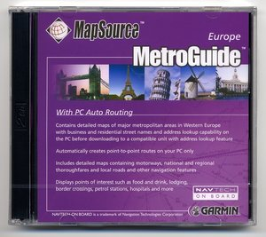 Garmin MetroGuide Europa v6.00