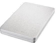 Toshiba Stor.E Canvio Alu silber 500GB, USB 3.0 Micro-B (HDTH305ES3AA)