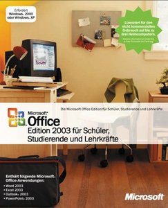 Microsoft: Office 2003 Standard Schulversion / SSL (PC) (503-00279)