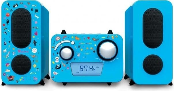 BigBen Stereo Music Center MCD11 Kids blau