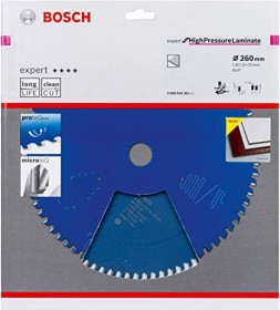 Bosch Expert for High-pressure laminates circular saw blade 260x2.8x30mm 80Z, 1-pack (2608644361)
