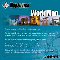Garmin: World Map CD